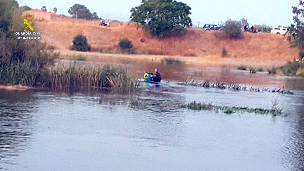 Imagen en un momento del rescate.