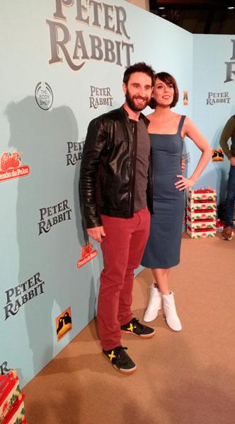 Dani Rovira y Belén Cuesta en la presentación de la premiere.