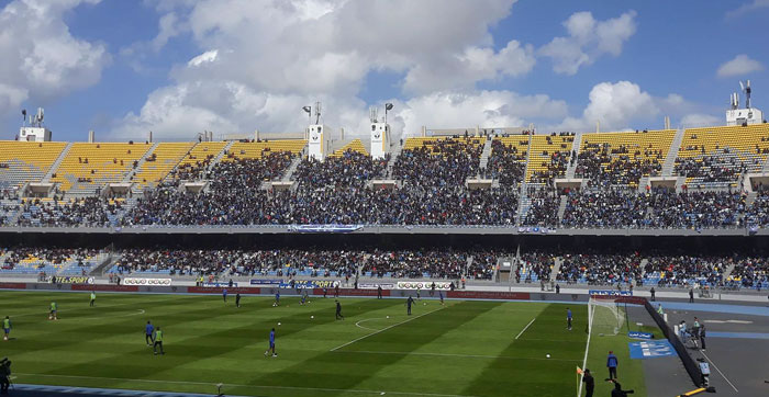 Estadio del Ittihad Tanger.