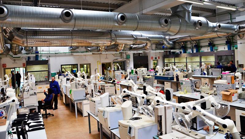 Laboratorios de CEPSA en Palos de la Frontera.